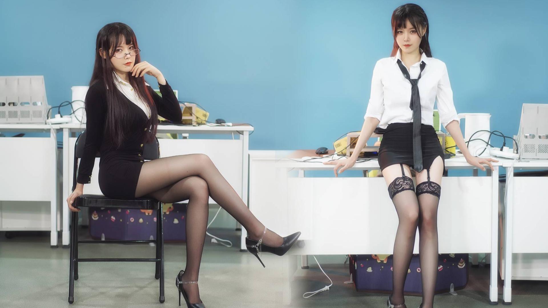 【短短】办公室的黑丝短裙小姐姐,你喜欢哪个?片尾影流之主