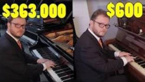 钢琴大佬|便宜钢琴对比天价钢琴