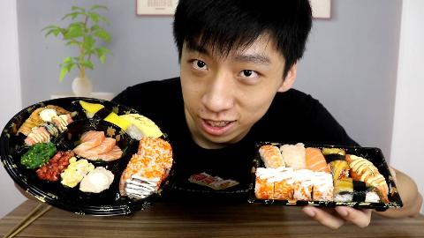 """花100元能买到多少寿司?没想到是这样的""""份量""""?"""