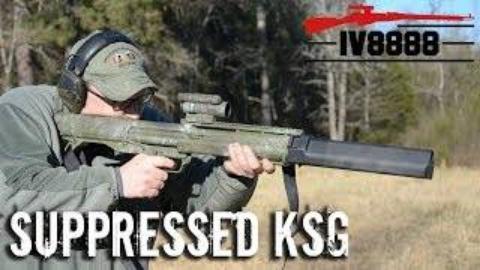 [Iraqveteran8888]消音KSG霰弹枪