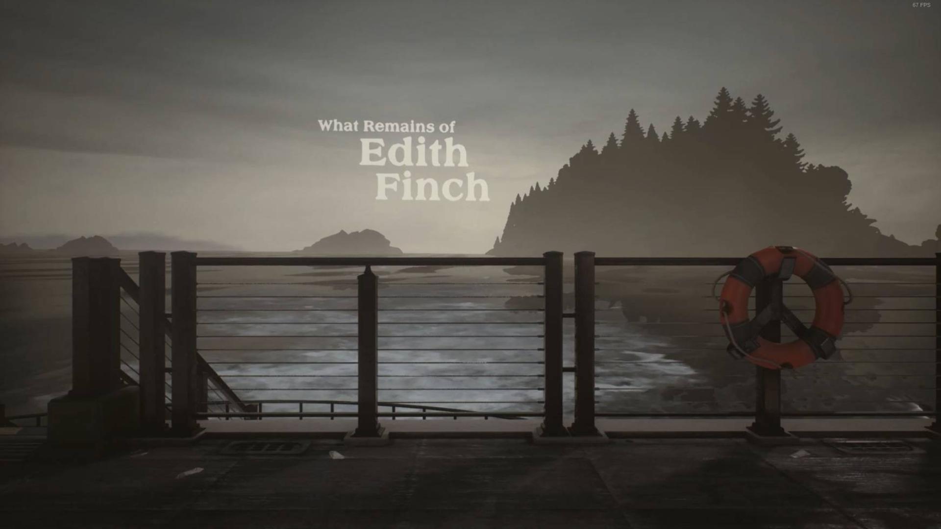 【第九艺术】What remains of edith Finch #01