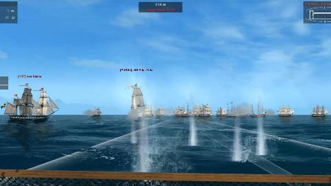 《Naval Action海军行动》攻港战 大汉NA舰队主力无损夺取战略重镇George Town