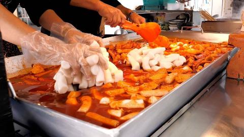 【韩国街头美食】- 铁板辣炒年糕