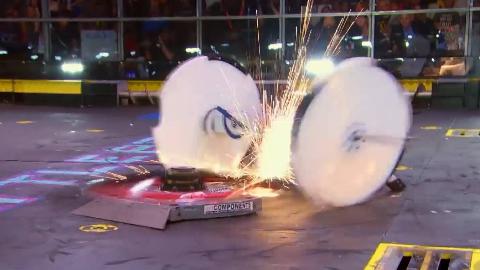 机器人大战:单方面吊打的比赛