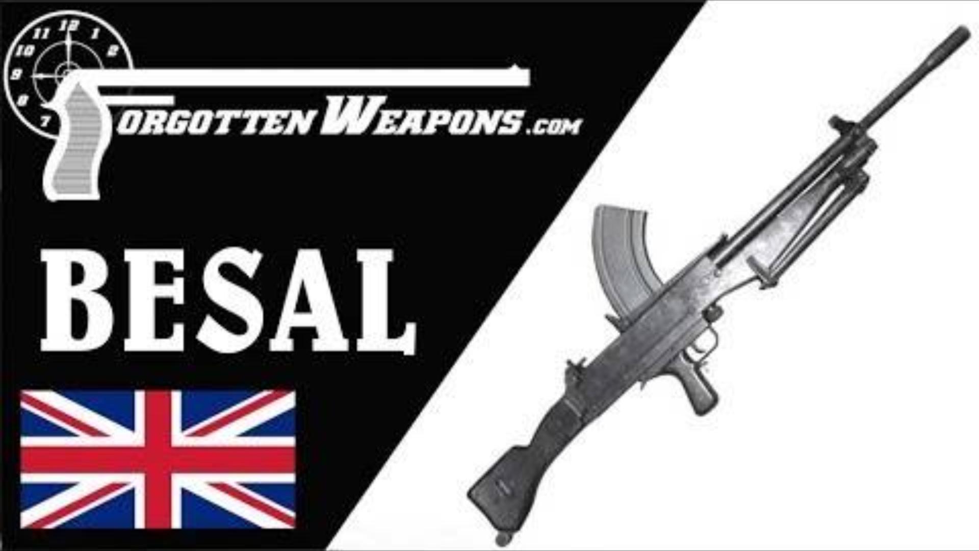 【被遗忘的武器/双语】BESAL轻机枪--英国人的救急简单轻机枪