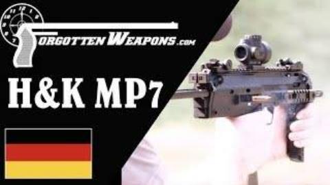 [遗忘武器]试射H&K MP7冲锋枪