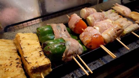 【日本街头美食】 - 新宿烧烤