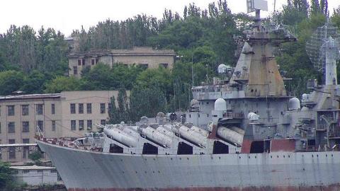 破烂不堪的乌克兰号巡洋舰准备出售,然而现在连印度都不会买了