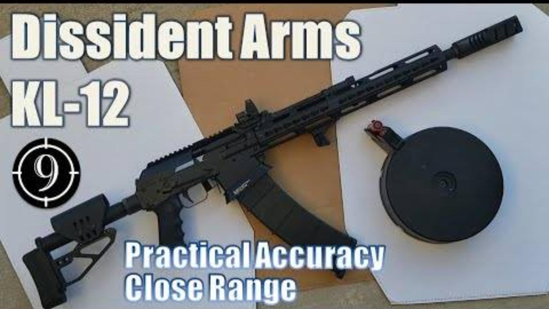 [9-Hole Reviews]KL-12霰弹枪近距离精准射击挑战