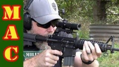 [MAC]柯尔特原装AR15瞄准镜试用