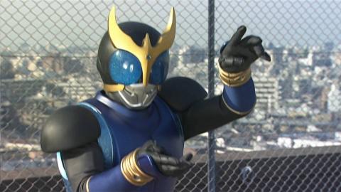 [假面骑士空我]第五集战斗剪辑,青龙形态登场