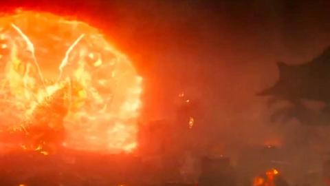 《哥斯拉2》新预告,红莲哥斯拉全身亮相!放大招了!