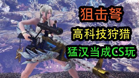 [MHWI][冰原]狙击重弩, 猛汉王里也能甩狙?