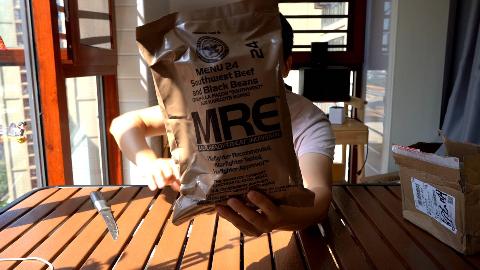 试吃最贵的一款美军MRE单兵口粮,真的还不如我两年前吃的