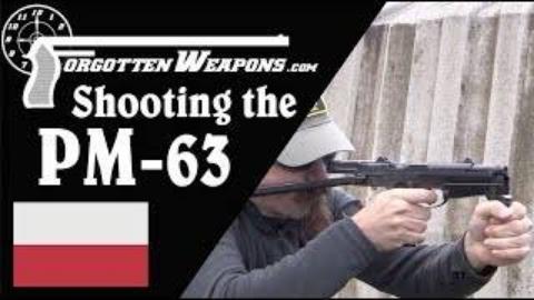 [遗忘武器]试射波兰PM-63 Rak冲锋枪