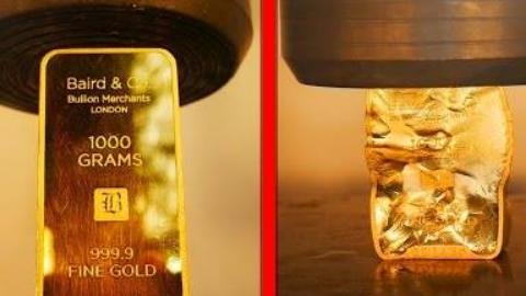 YouTube销毁的十大最昂贵物品!(价值4万美元的金条、金苹果手表)