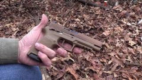 [hickok45]西格绍尔M17手枪