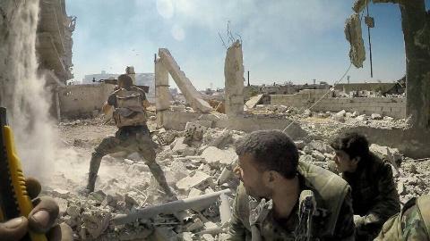 【欧肯视线】极具视觉冲击!大马士革之盾共和国卫队血战瞬间