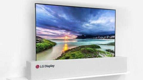 CES2019|LG全球首款柔性屏电视终于要开卖了!