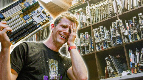【官方双语】垃圾佬!电工Brian!#linus谈科技