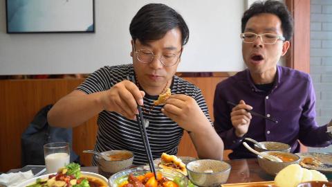 西安周边县城的餐馆有多实惠、菜可以点半份,8道菜才花160块!