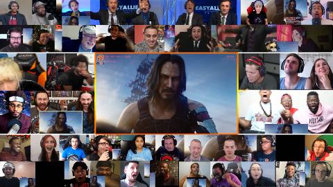 老外观看「赛博朋克2077」2019 E3宣传片时的反应