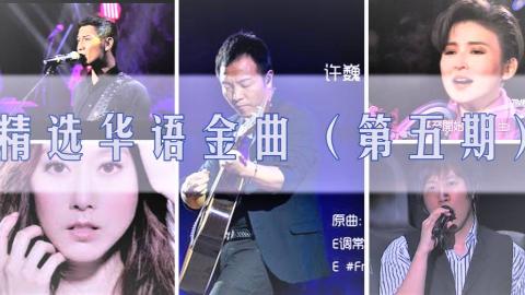 精选华语金曲现场(第五期:许巍、陈淑桦、Soler、許慧欣)