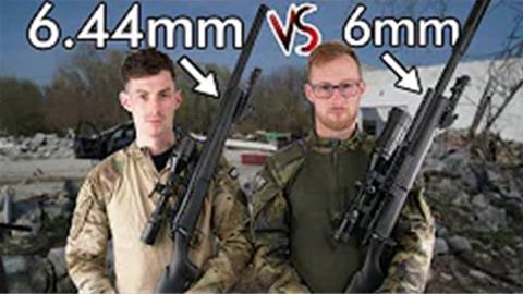 奥地利小哥Novritsch—恰饭时间6.44mmBB测试