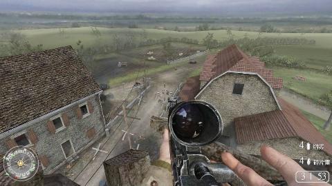 使命召唤2:占领最好的狙击点位,一枪消灭一个敌方的迫击炮手