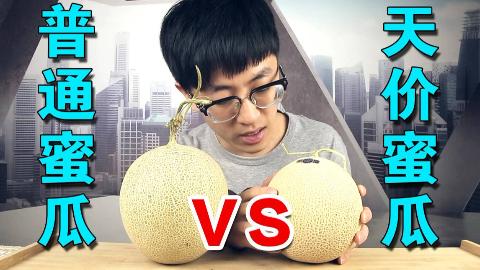 试吃495元一个的日本蜜瓜真的比33元一个的中国蜜瓜好吃吗?