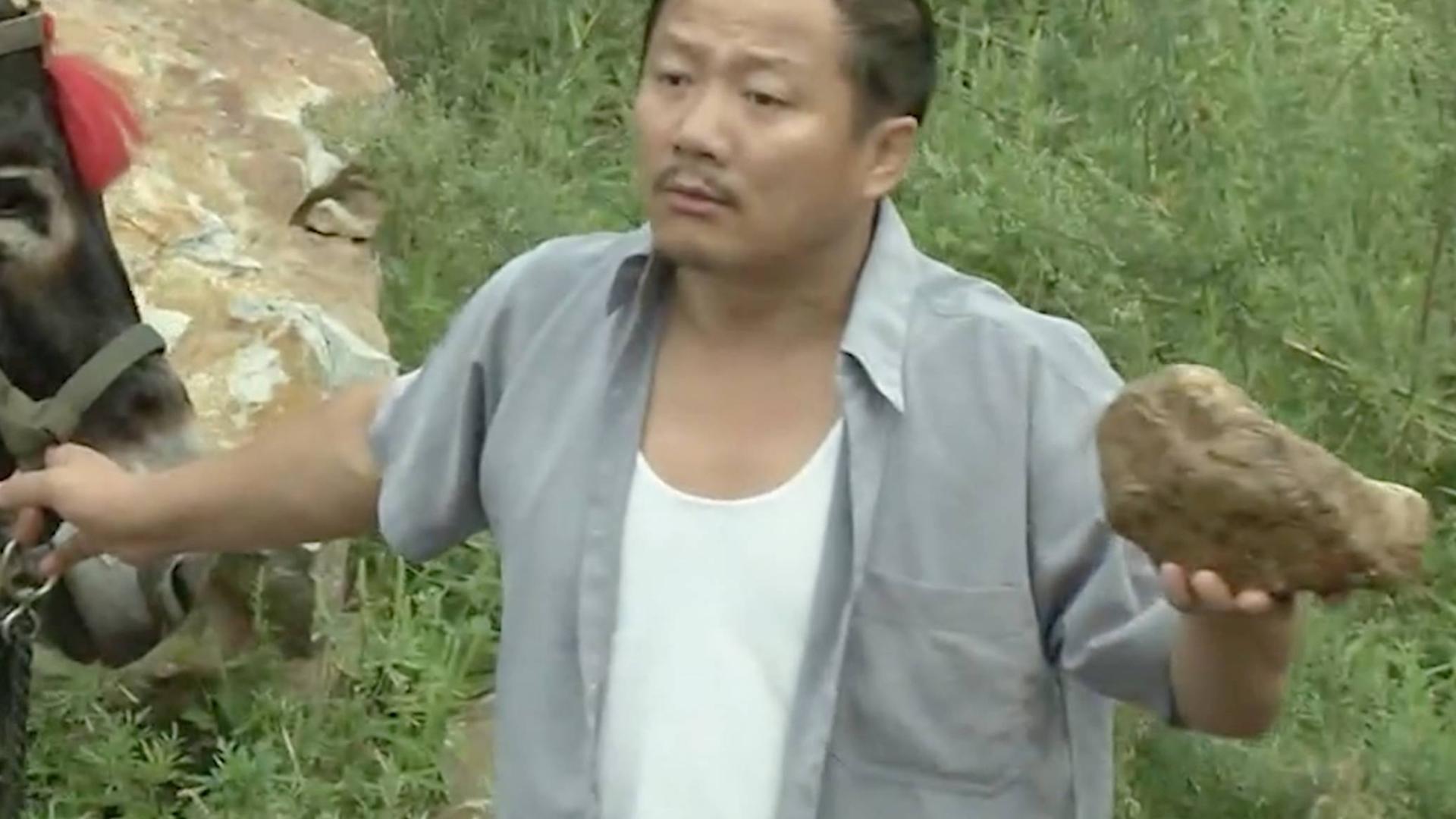 谢广坤给驴洗澡,刘能一顿损,两老爷们就开始口水战了