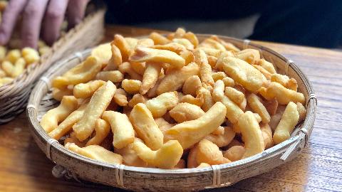 厨男王一刀:好吃的炸果碟,还得是老家的传统做法,地道家乡味