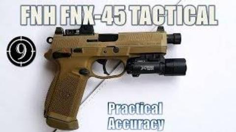 [9-Hole Reviews]FN FNX-45手枪 — 近距离精确射击挑战