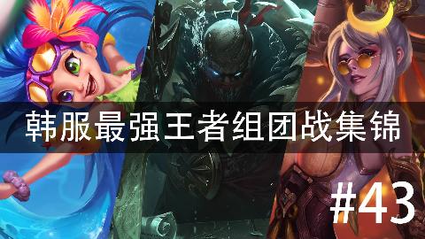 韩服最强王者组团战集锦#43 原来潜水党那么多 :D
