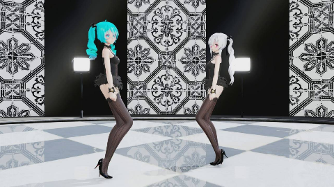 [MMD] TDA Lingerie Haku Miku  Will You Go With Me