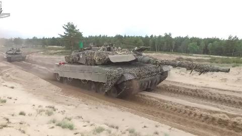 欧洲四国,派遣快速反应部队前往波兰,模拟的北约快速在波兰部署