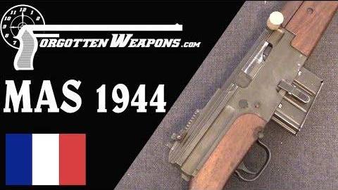 【被遗忘的武器/双语】法国MAS44半自动步枪历史介绍