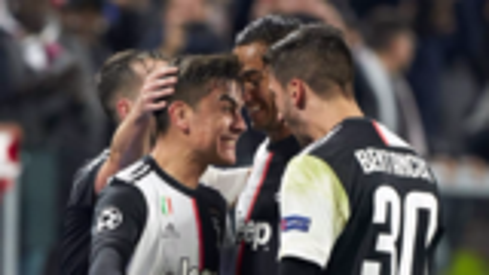 2019-2020赛季欧冠小组赛第5轮 尤文图斯vs马德里竞技 全场集锦