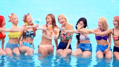 Bambino女团-让这个夏天清爽起来-朴恩率-小姐姐们加油!!