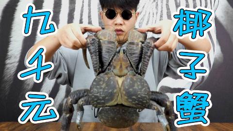 小伙试吃9000元的椰子蟹,是不是像网传一样蟹中极品