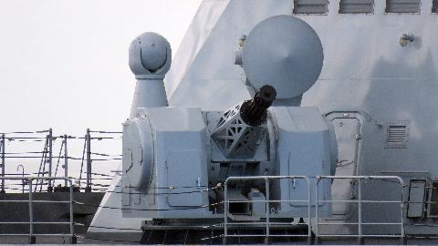 """中国1130近防炮的备弹只有1280发,作为军舰最后一道""""防线"""",够吗?"""