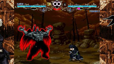 拳皇mugen:生存之战,邪头挑战零子失败