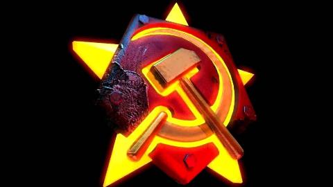 【红色警戒】随机地图1V7冷酷敌人,开超级武器