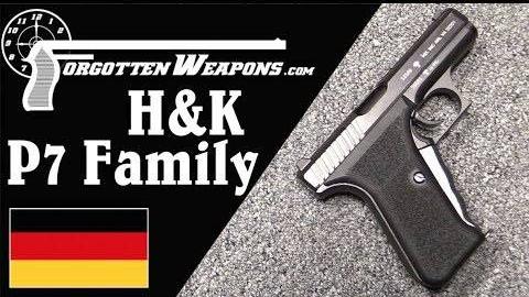 【被遗忘的武器/双语】行家专属——HK P7手枪历史介绍/结构分析