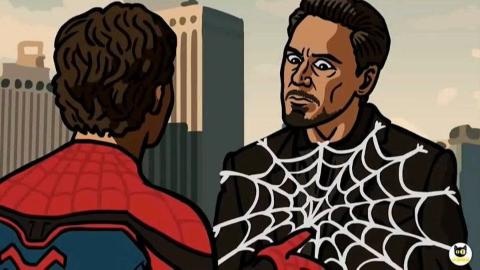 漫威爆笑2个动画,蜘蛛侠被钢铁侠收走战服,小蜘蛛竟报仇雪恨