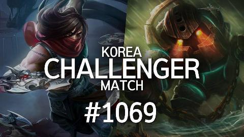 韩服最强王者的精英对决 #1069 | kksk