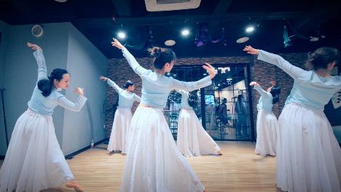 「中国古典舞-不染」古风舞上海闵行莘庄春申学跳舞 全舞种专业舞蹈教学