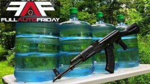 [Kentucky Ballistics]全自动AK47射爆水桶