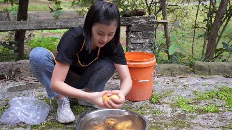 漆二娃vlog:好几天没有练刀功了,今天我要继续切土豆丝