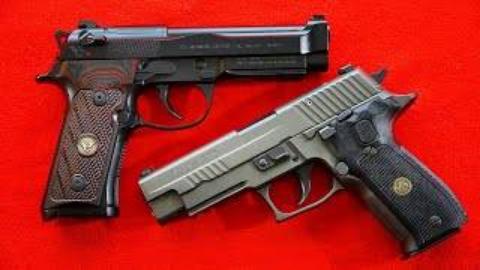 [BERETTA9mmUSA]西格绍尔P226 vs 伯莱塔 92G手枪